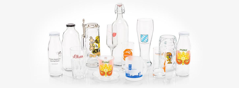 Porzellan & Werbung Granvogl GmbH - Foto der Produktkollektion Glas